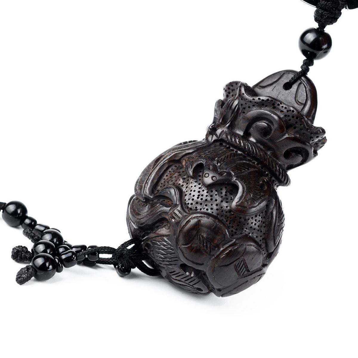 宏图好运 桃木蝙蝠金钱袋钥匙扣挂件 创意汽车钥匙链钥匙圈