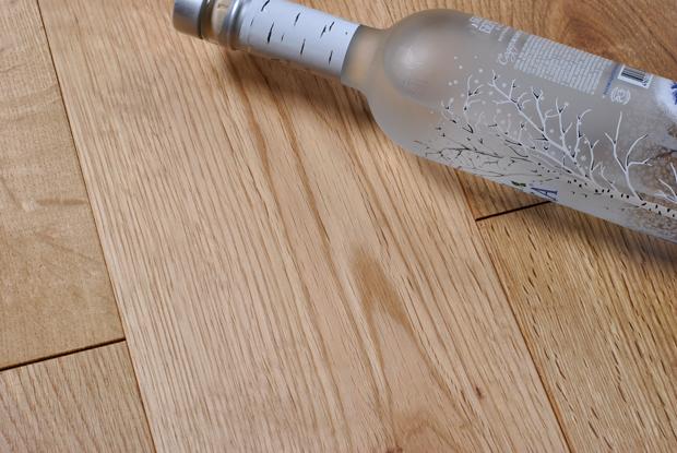 橡木纯实木地板18MM浅色 白橡木地板全实木大板 厂家直销 木蜡油