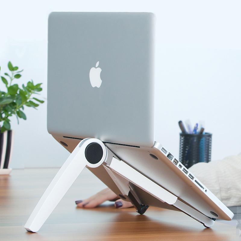 埃普up-1笔记本支架便携式电脑支架散热托架桌面增高架子mac手提铝合金升降折叠苹果电脑立式底座