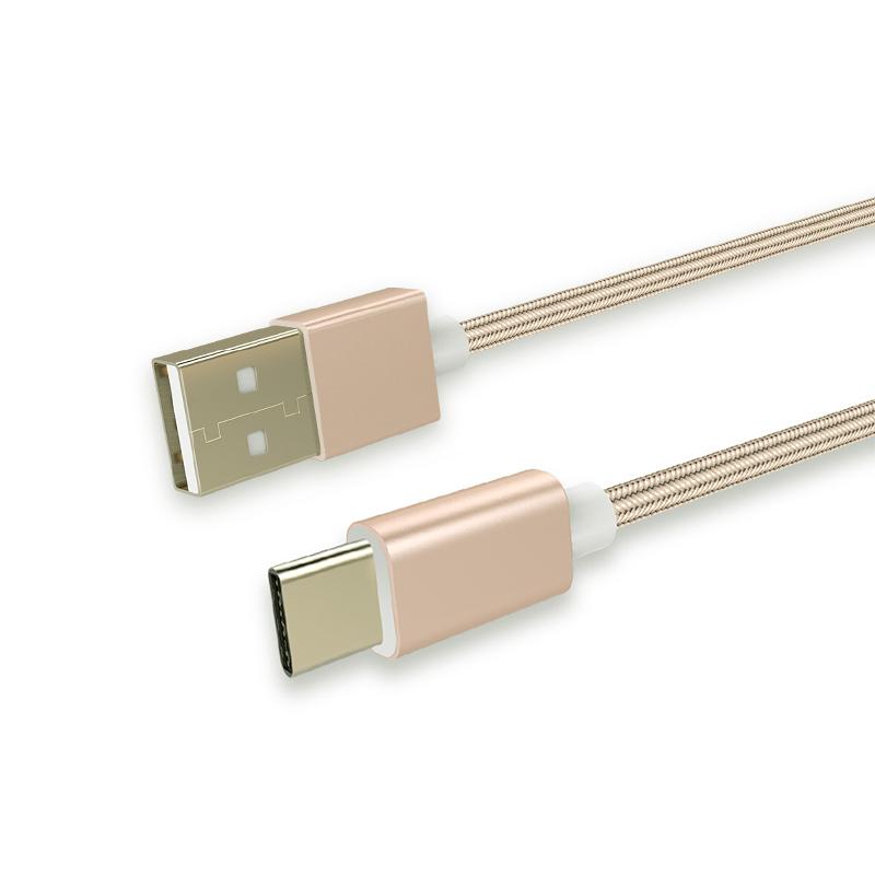 绿巨能安卓Type-c数据线4C小米5荣耀V华为P9魅族Pro5乐视1s充电线