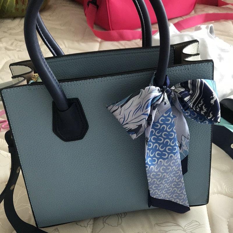 真丝绑包丝带系缠包带绑包包手柄小丝巾桑蚕丝绑手提包窄
