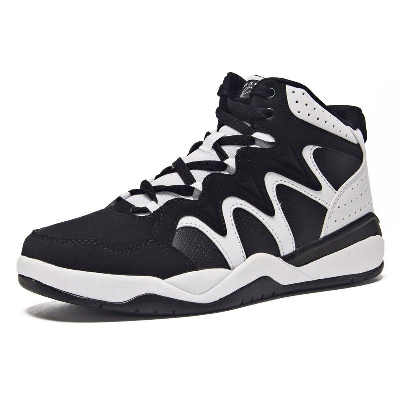 361女鞋黑白熊猫高帮运动板鞋休闲小白鞋361度中帮白色篮球鞋子女