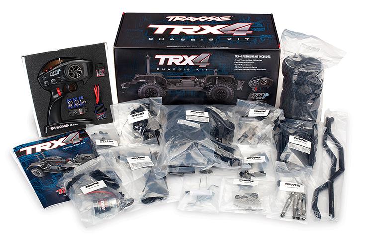 TRAXXAS TRX4路虎卫士1/10遥控仿真攀爬车四驱越野差速锁高低档RC