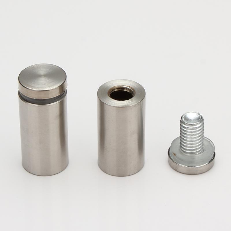 不锈钢广告螺丝广告钉装饰钉亚克力支撑广告牌钉镜钉玻璃钉固定钉