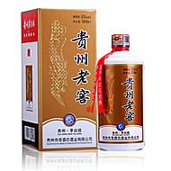 贵州国酱纯粮食酱香白酒53度500ml