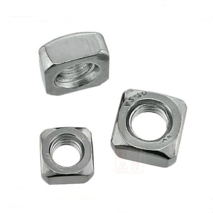 M3M12四方形螺母304不锈钢打折促销包邮国标螺丝螺栓螺钉方型螺帽