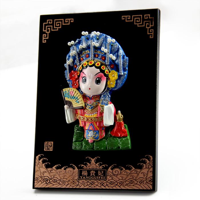 京剧脸谱摆件 中国风特色礼品送老外出国礼品民间特色工艺品礼物