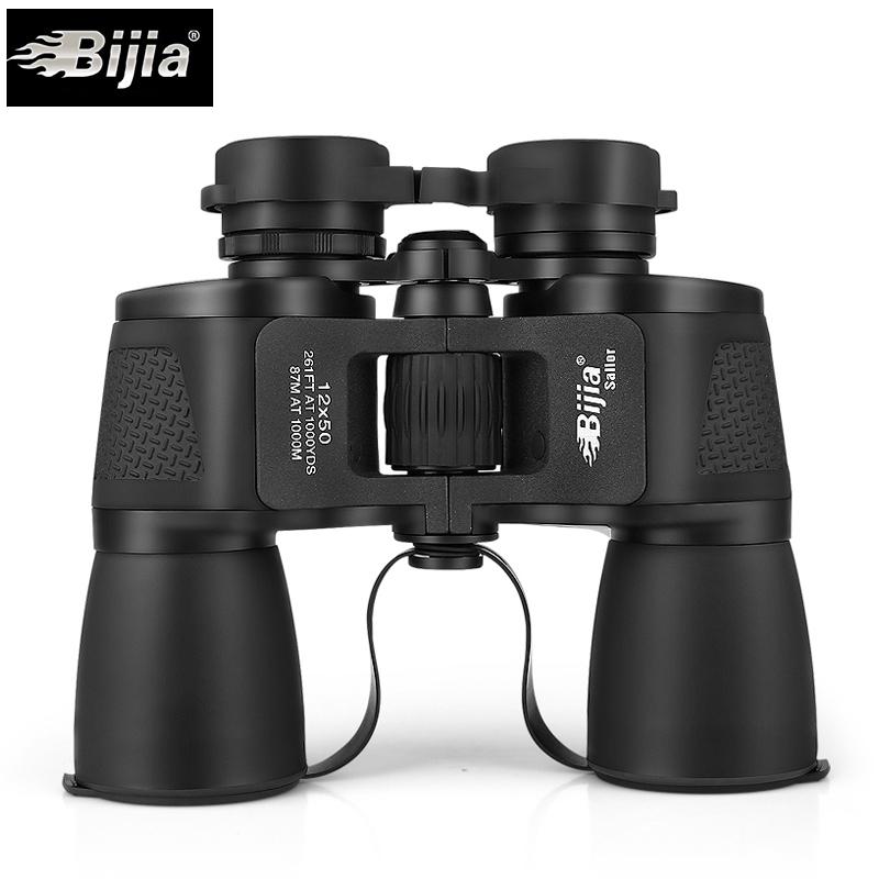 新品bijia啟航者12x50雙筒望遠鏡高倍高清夜視非紅外1000軍備