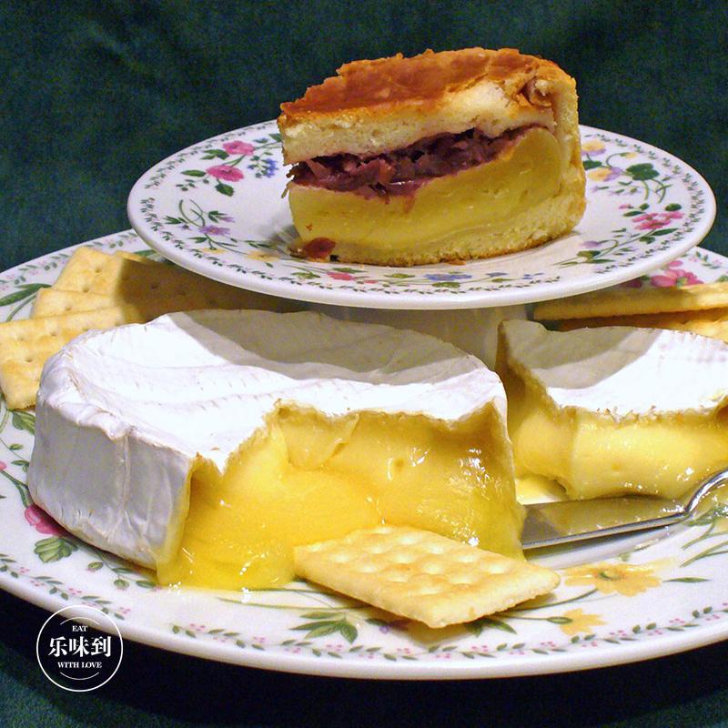 芝士即食 软质奶酪 1kg 350g 布里干酪 伊斯尼 Brie Isigny 法国进口