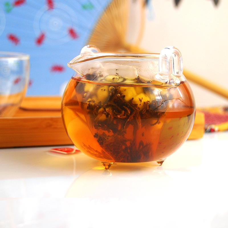 苹果红茶云南蜜香滇红茶苹果粒茶水果红茶果味茶组合袋泡茶包天然