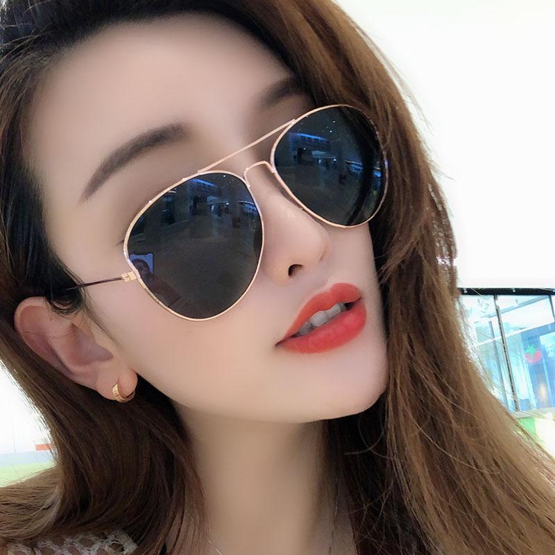 墨镜女ins韩版潮流太阳眼镜偏光防紫外线男士网红街拍2019款眼睛