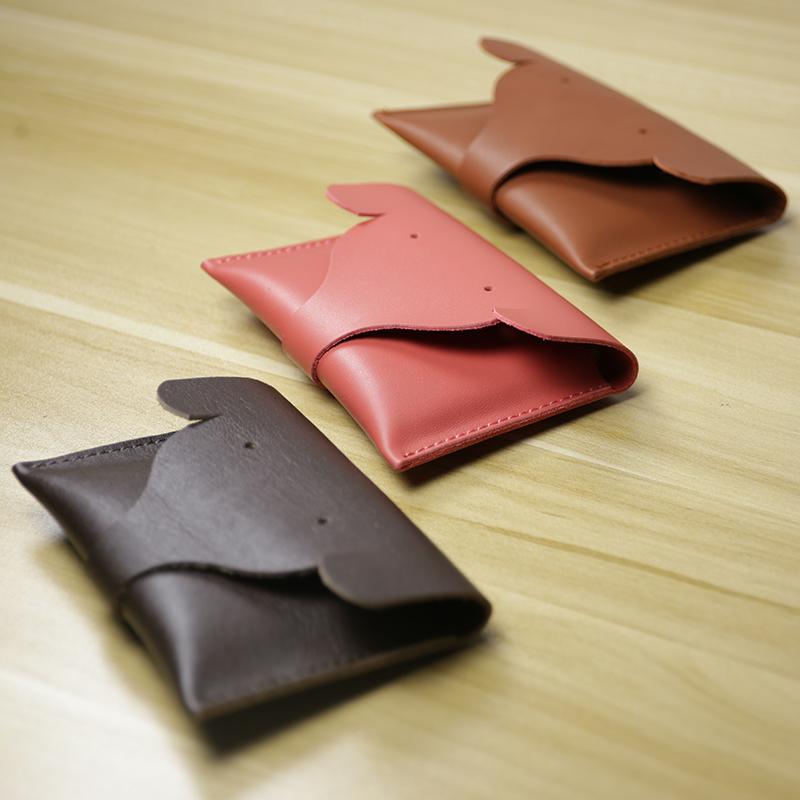 手工创意零钱包真皮小卡包复古牛皮短款男女钱包驾驶证硬币包