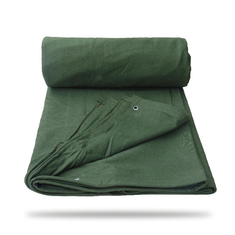 防雨布防水苫布防晒防潮布三防布有机硅帆布汽车货车篷布加厚帆布