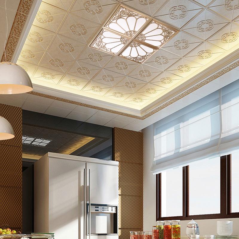 平板灯 led 客厅厨房灯厨卫嵌入式 450x450 集成吊顶灯拼花组合 45x45
