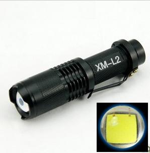 [淘寶網] 強光手電筒遠射變焦 正品L2迷你強光遠射防身防狼手電