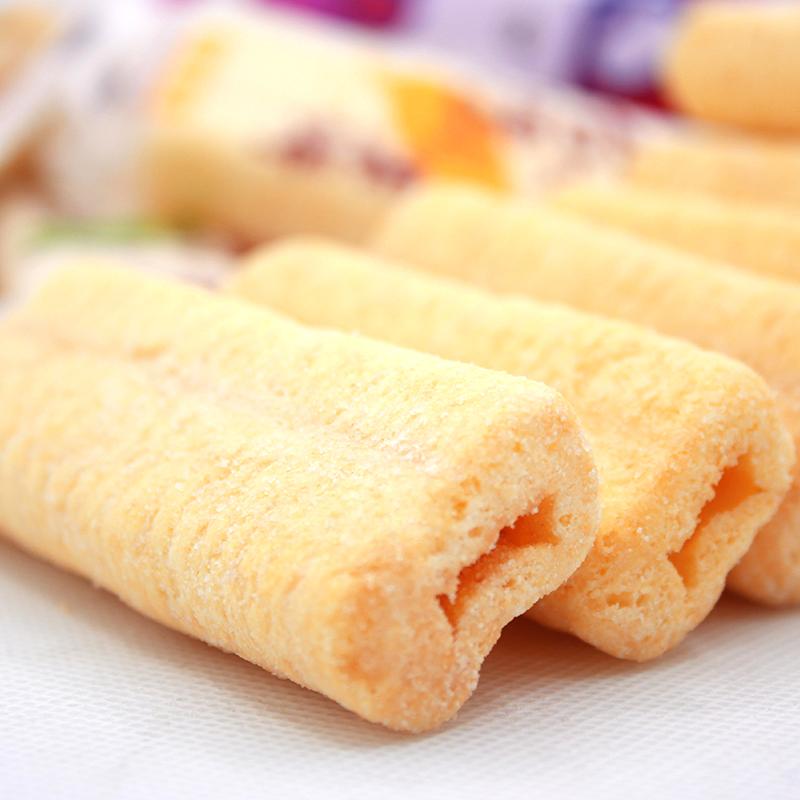 天天一族台湾风味米饼350g整箱饼干 休闲零食小吃膨化食品糙米卷