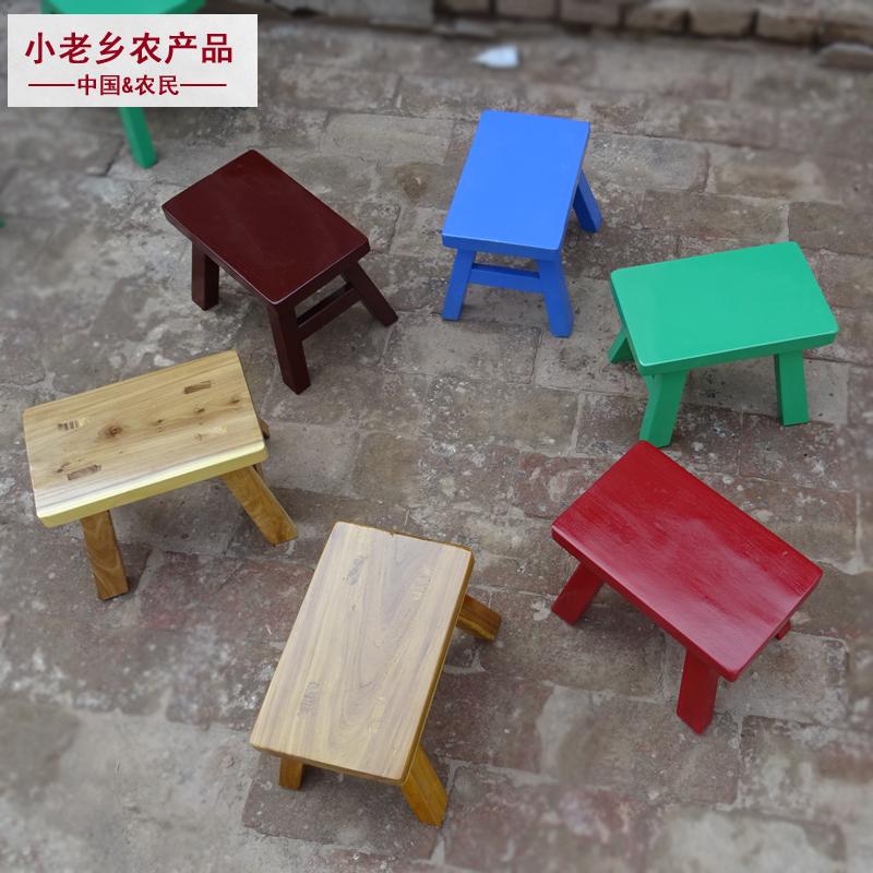 实木小板凳宝宝舞蹈儿童小木凳家用客厅成人加厚矮凳换鞋小凳子