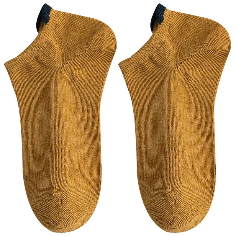 5双装情侣袜子女船袜纯棉浅口短袜