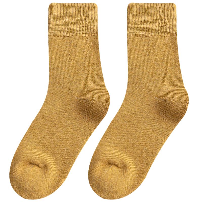 长袜子男士中筒袜秋冬季纯棉袜防臭吸汗-秒客网