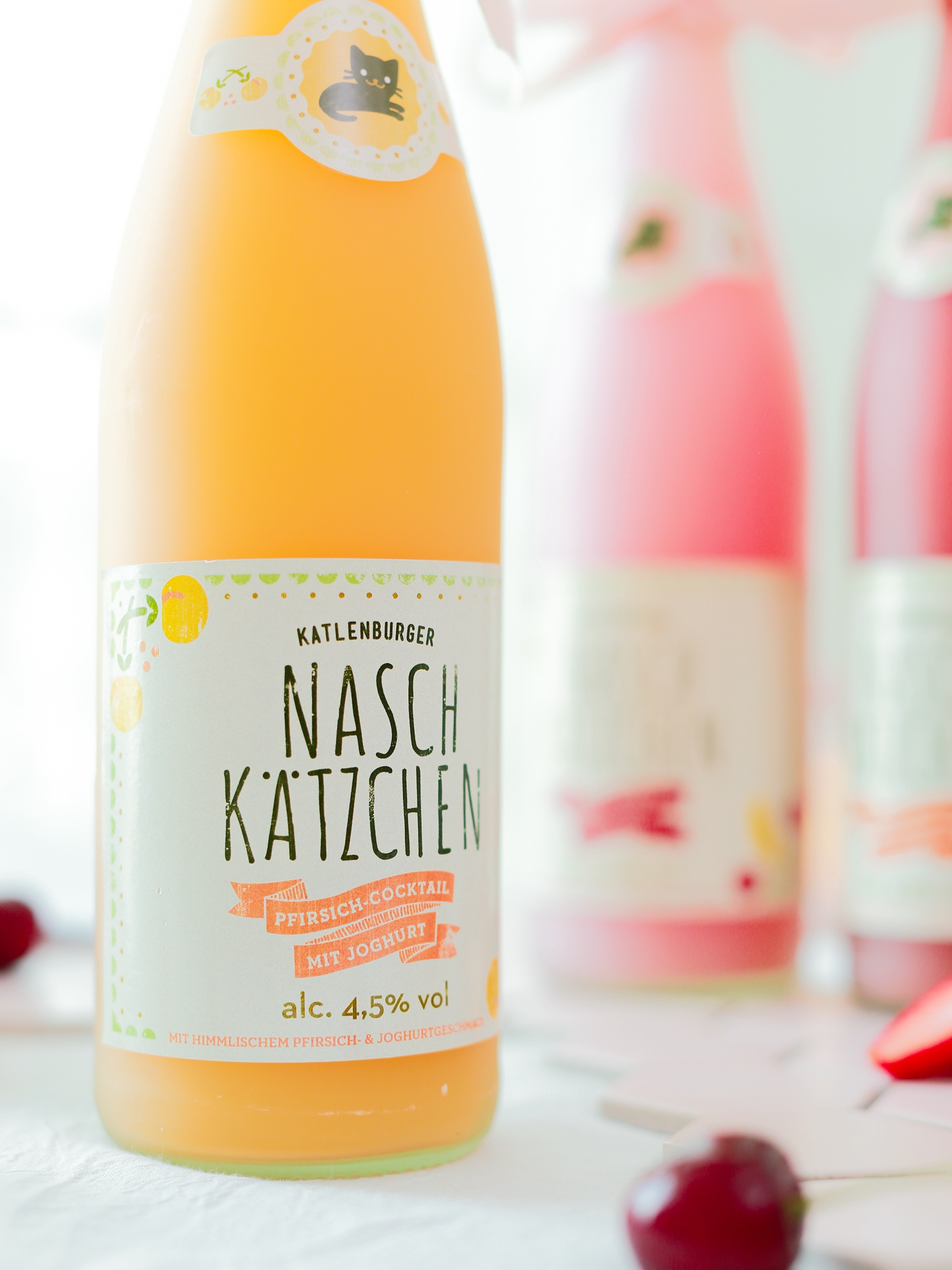 少女甜酒葡萄酒 INS 网红德国进口桃子果汁鸡尾酒 超好喝颜值高