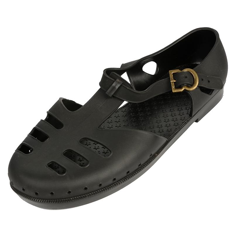 越南男士凉鞋包头老式复古休闲沙滩鞋防水塑料罗马橡胶国潮军鞋夏