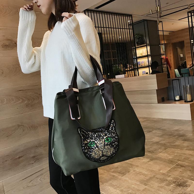 网红旅行包女韩版短途手提袋行李包旅游大容量轻便运动健身单肩包