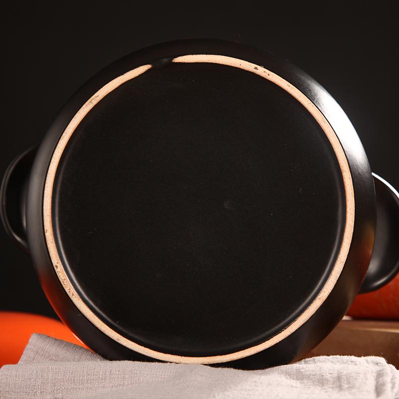 欣嘉煲砂锅炖锅家用煲汤锅明火燃气耐高温中韩式陶瓷小号沙锅瓦罐