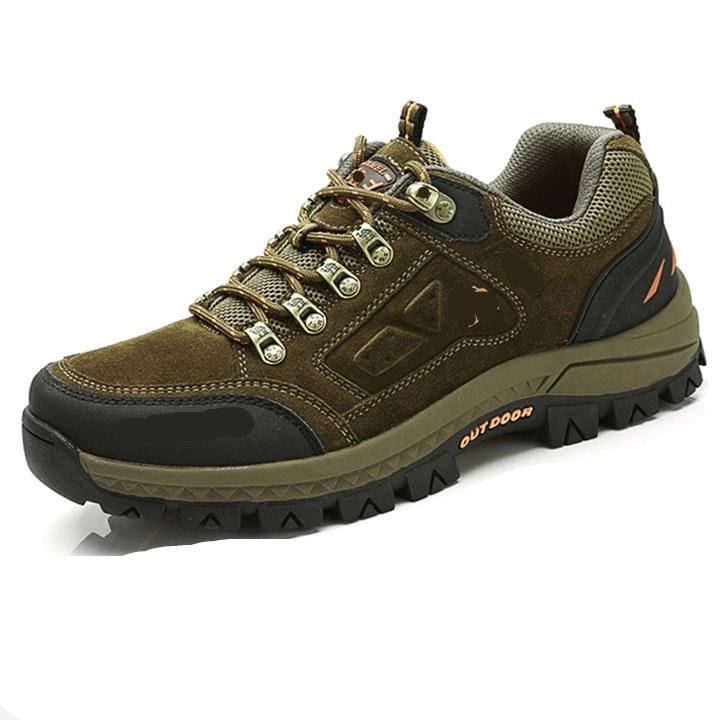 A633 低帮登山鞋徒步鞋 金戈骆驼男鞋耐磨户外越野跑鞋 CAMELJINGE
