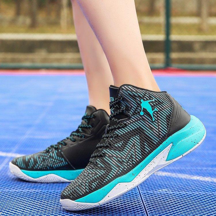秋冬新款篮球鞋男女学生运动鞋高帮鞋女子篮球战靴防滑耐磨 2018