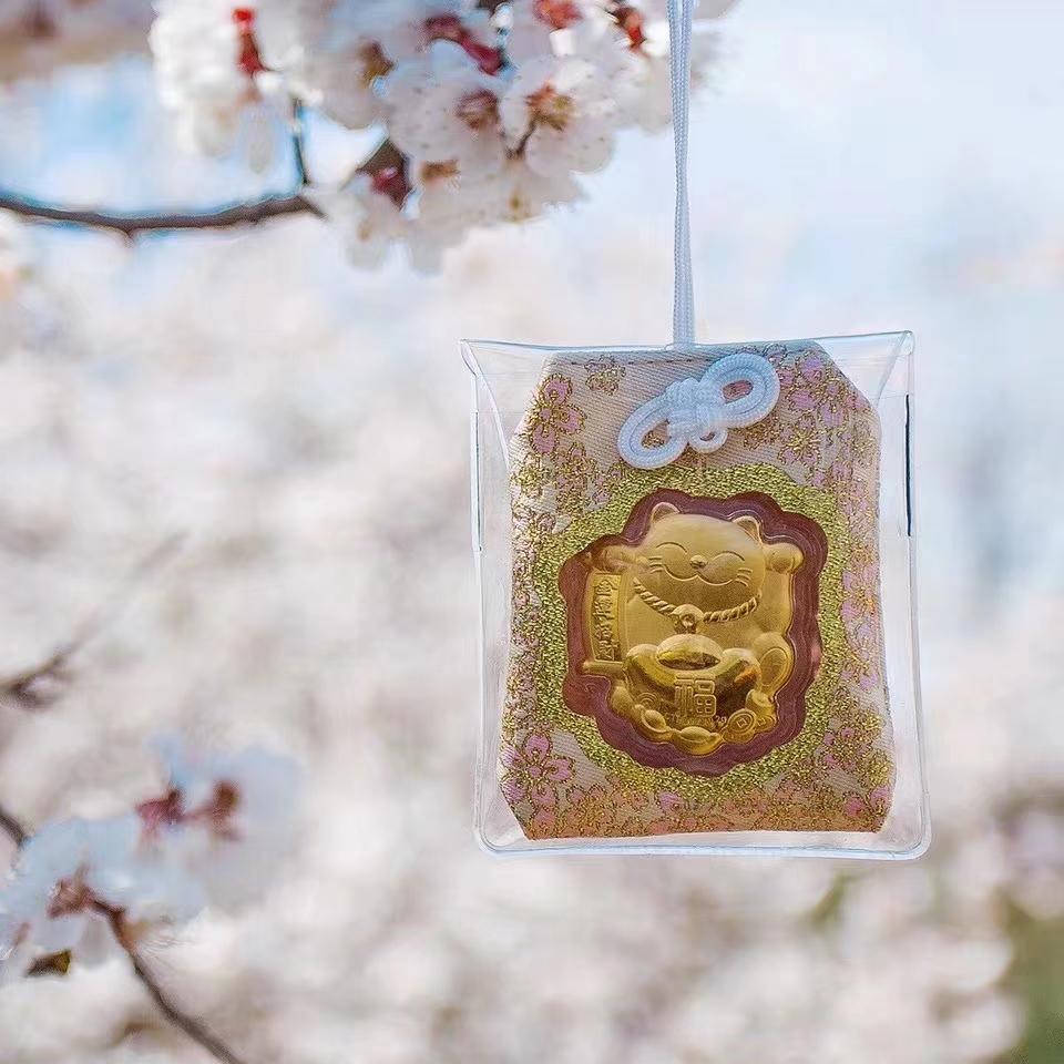 正天福 心愿成就新年礼物大开运护身符保平安  日本限定招财猫御守