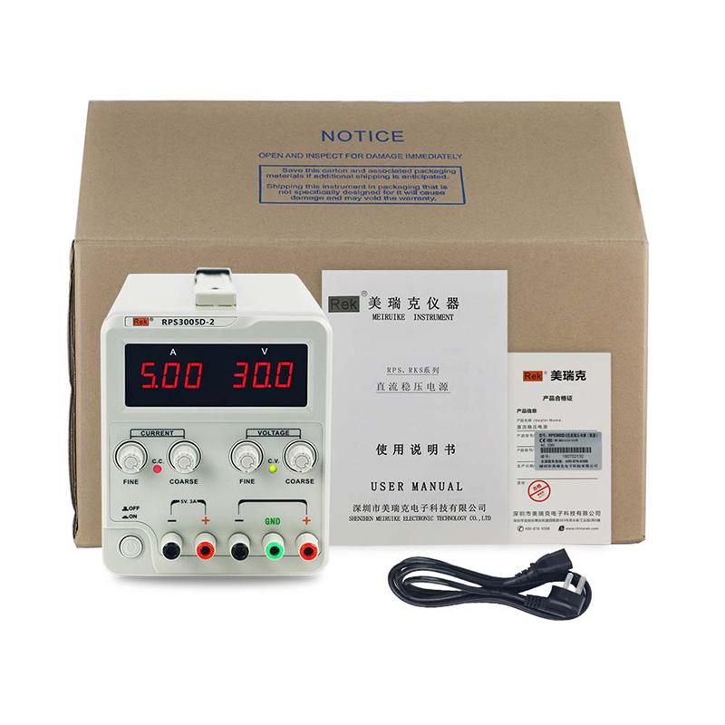 美瑞克单路直流稳压电源高精度可调电源60V 30V 5A笔记本维修电源