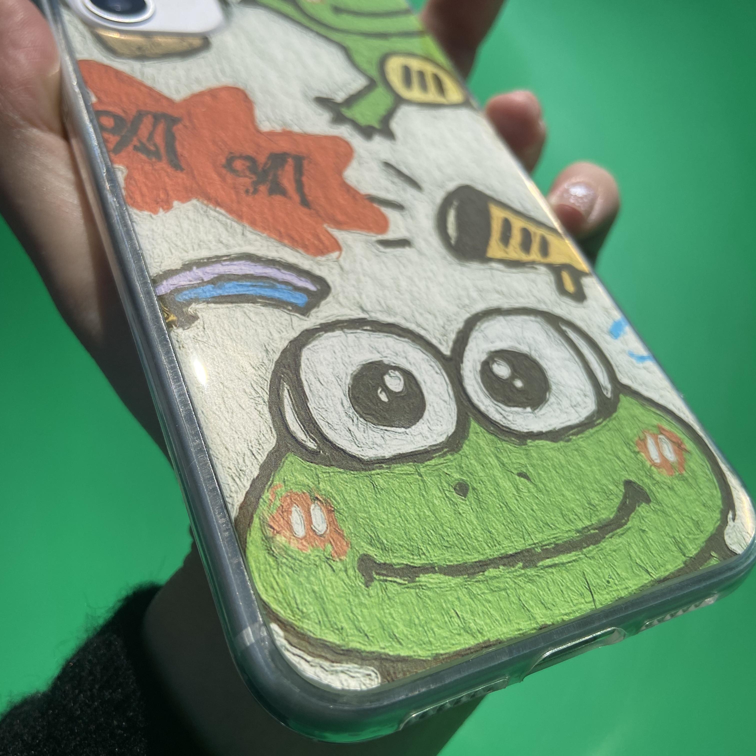 夏日青蛙红米k40 k30S k20pro手机壳红米note10/8/7pro note95G软主图