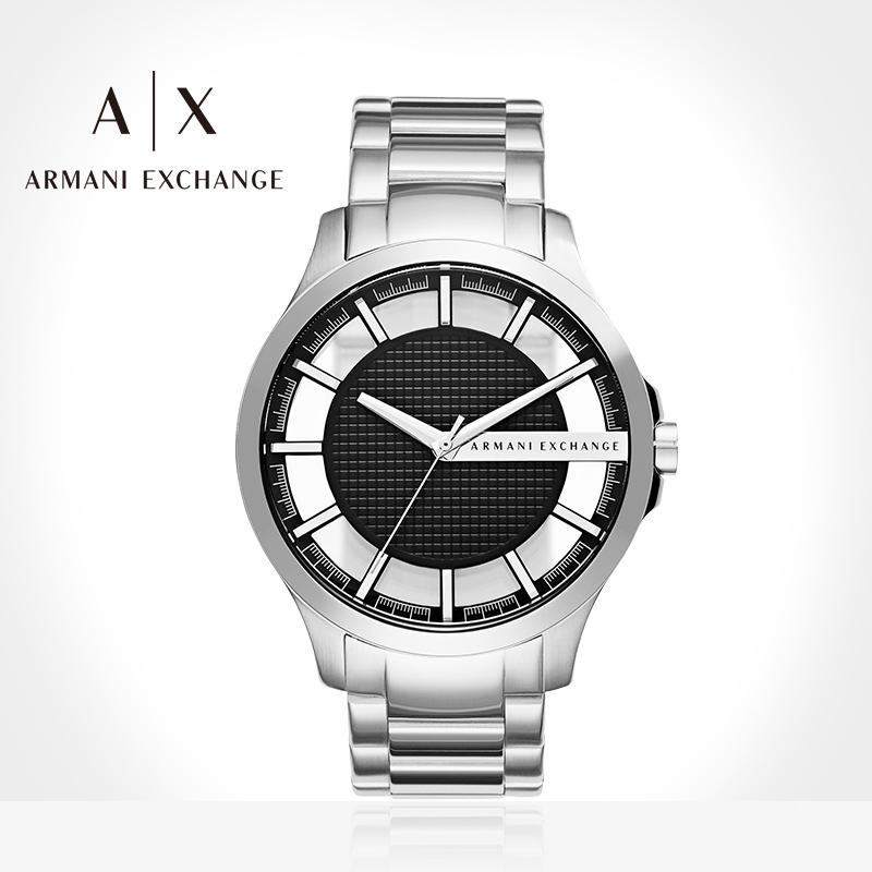 Armani阿玛尼手表男士官方旗舰店正品防水石英白武士送礼物AX2179