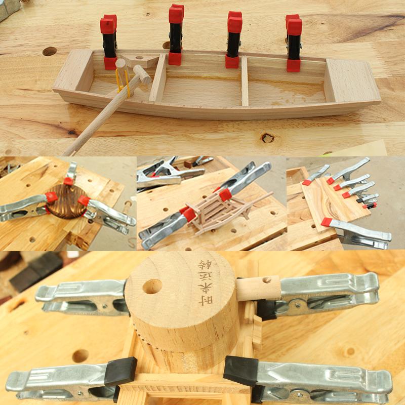 2 4 6 7 9寸强力A字型夹 木工夹子 快速夹 DIY工具 板材固定夹