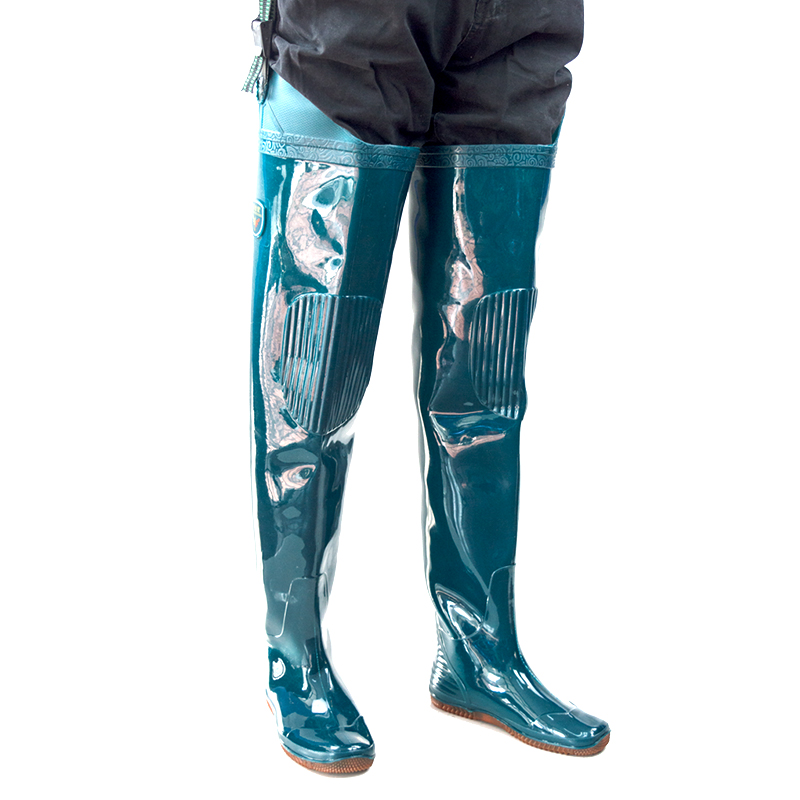 雨鞋长高筒过膝钓鱼专用插秧水田鞋靴软底半身防水裤腰雨靴男女