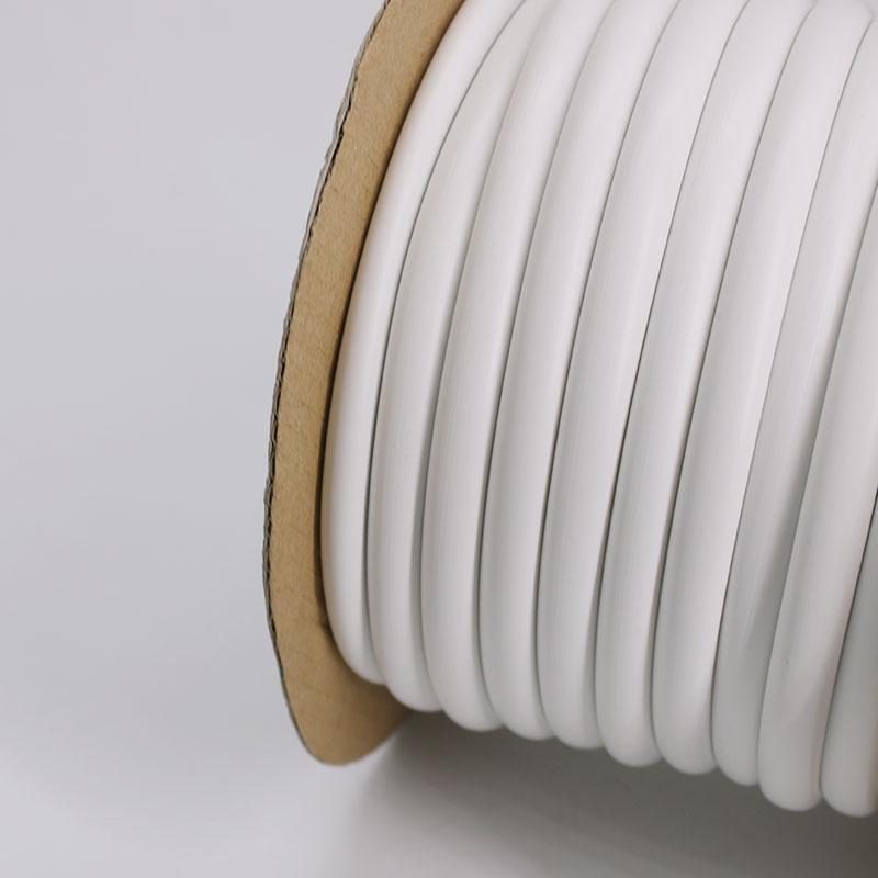梅花管齿形管PVC内齿管 电线印字号码管 机打号码管线号管 1-16平
