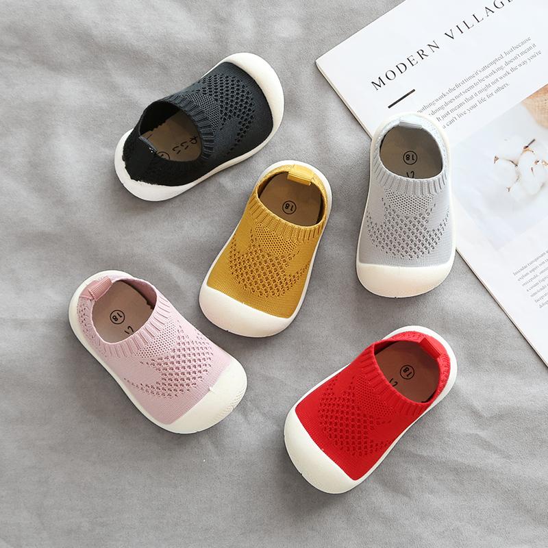 小童鞋透气不掉0-1岁男儿童软底2-3婴儿幼儿学步鞋子女宝宝春秋季