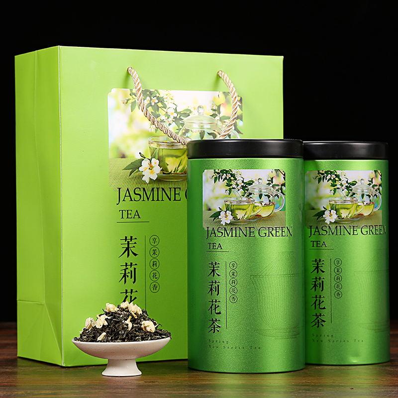 500g 新茶特级散装茉莉花茶叶罐装共 2018 浓香型茉莉花茶