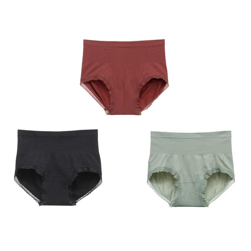 【六只兔子】高腰内裤女3条装