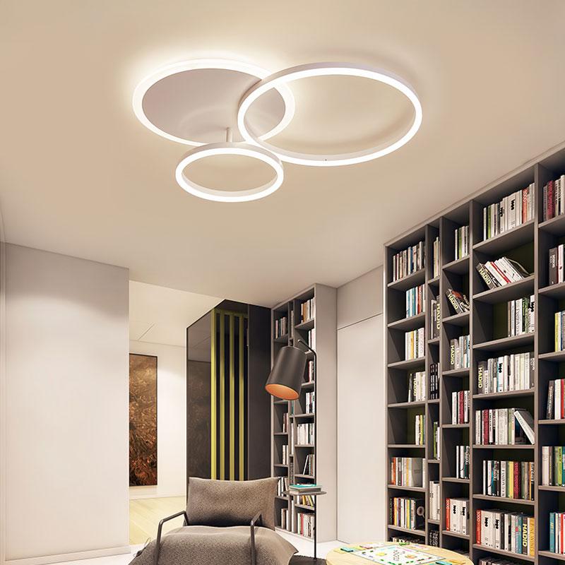 客厅灯圆形卧室吸顶灯北欧设计师灯具 led 现代大气家用极简约