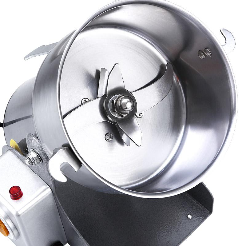 中要材打粉机超细研磨家用小型三七粉碎机五谷杂粮干磨打碎磨粉机