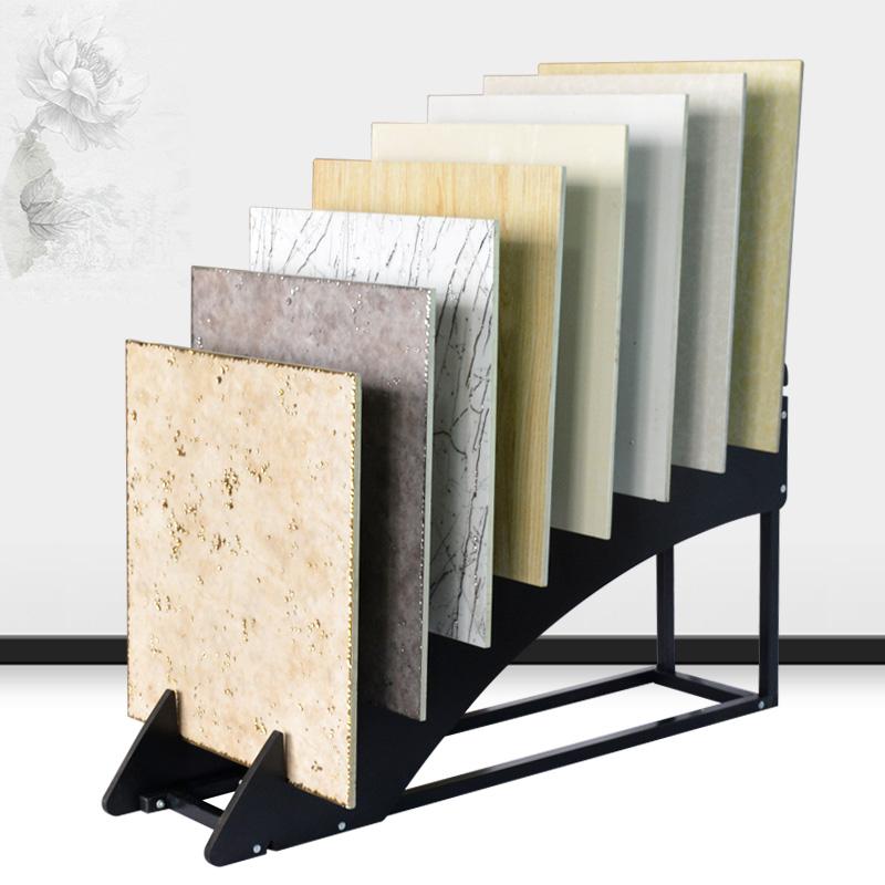 Display Rack Stand Wooden Floor