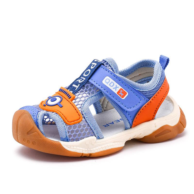 宝宝鞋子夏季小童男童凉鞋学步鞋女夏款1-3岁2软底防滑机能儿童鞋
