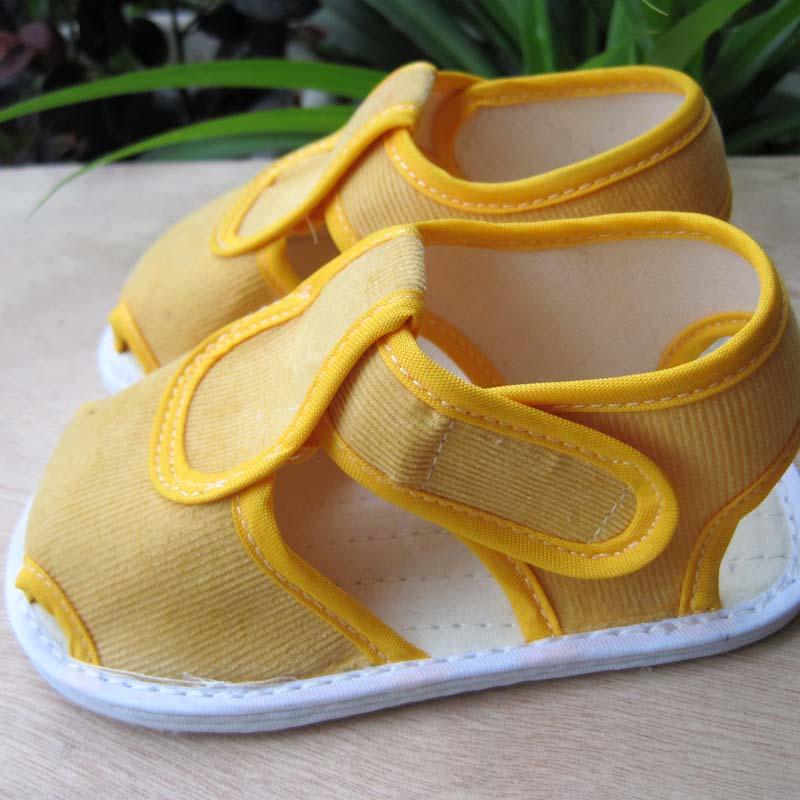 包邮男宝宝学步鞋千层底单鞋123岁布底凉鞋透气防臭手工婴儿布鞋