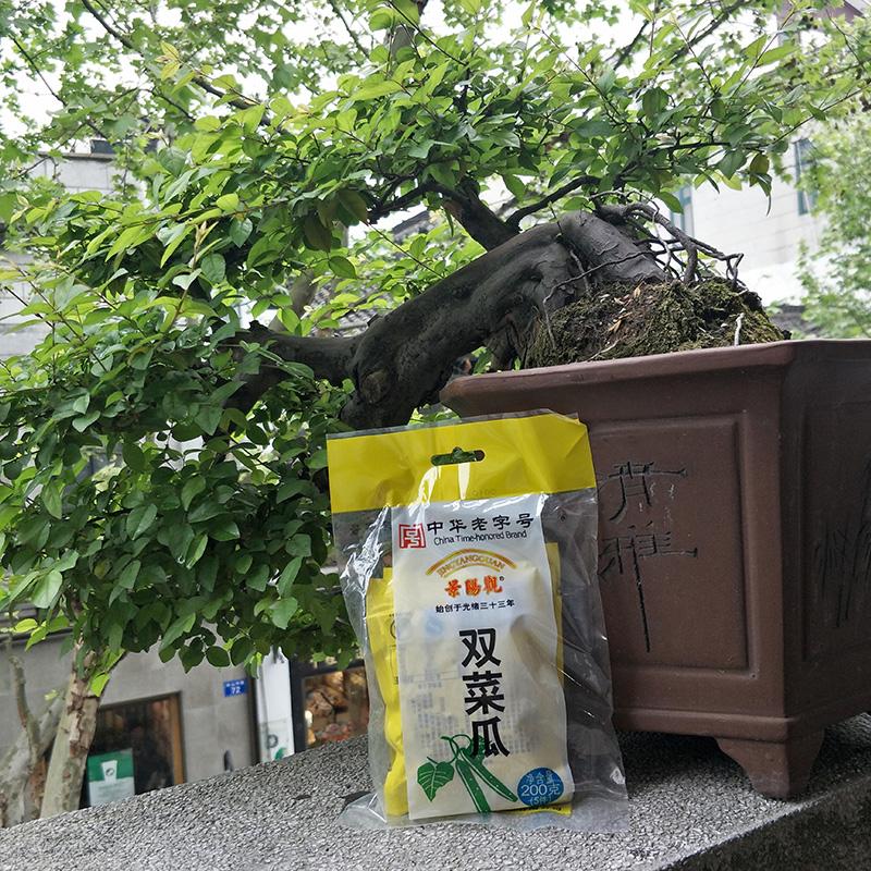 杭州特产景阳观中华老字号200g双菜瓜下饭菜小菜咸菜酱菜