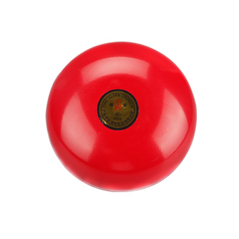 消防警铃 验厂火灾报警器 工厂商场报警器 火警紧急按钮套装 6寸