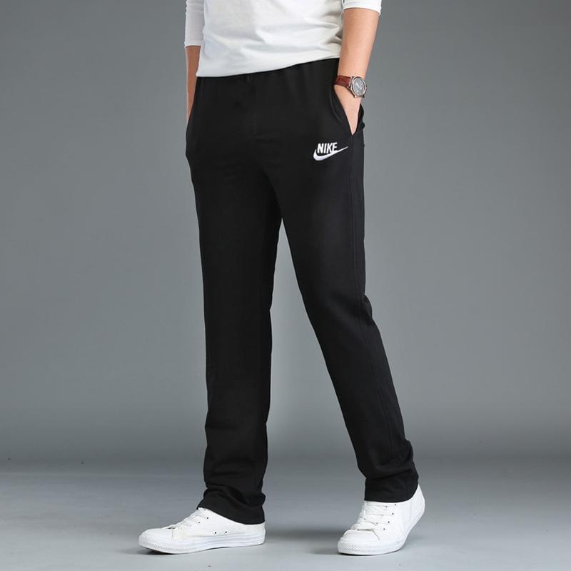 Nike/耐克裤子男宽松透气2019春秋季直筒休闲裤 针织长裤运动裤男