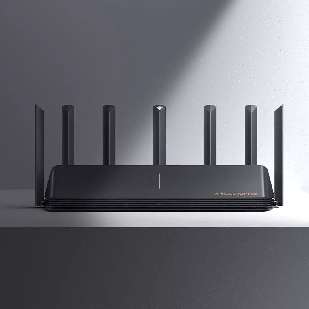大功率增强版 2500M 大户型穿墙王高速 wifi6 无线 5G 千兆端口双频家用 AX6000 小米路由器
