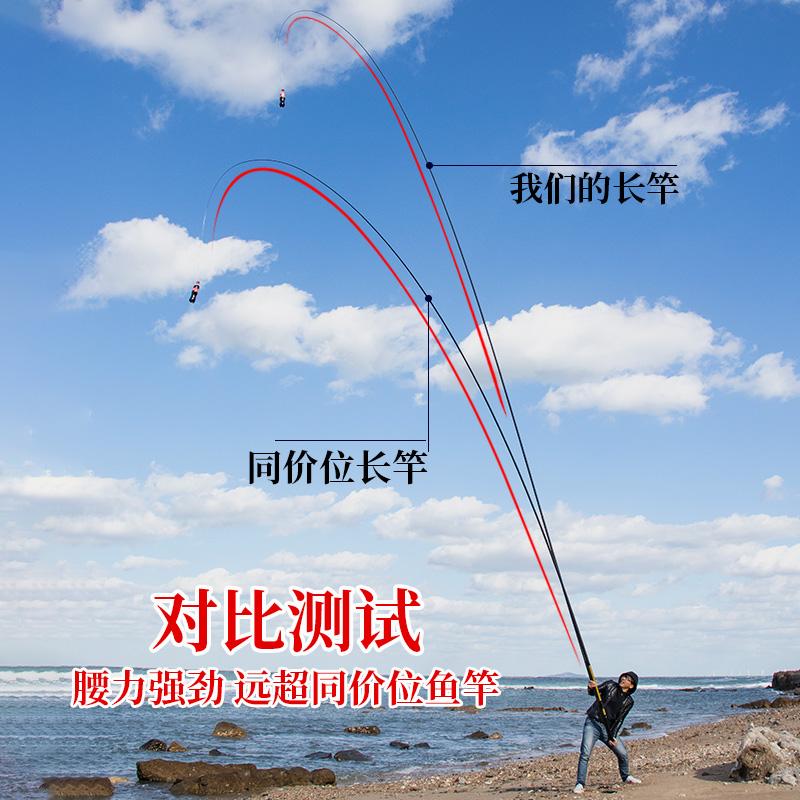 钓农超轻超硬手竿8/9/10/11/12/13/15米传统钓鱼竿炮竿长杆打窝竿