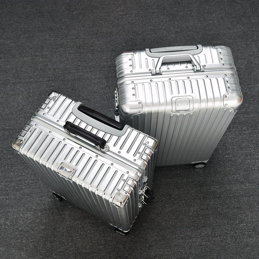 寸 30 寸男 28 寸旅行皮箱女 26 寸金属行李箱 22 全铝合金拉杆箱铝镁合金